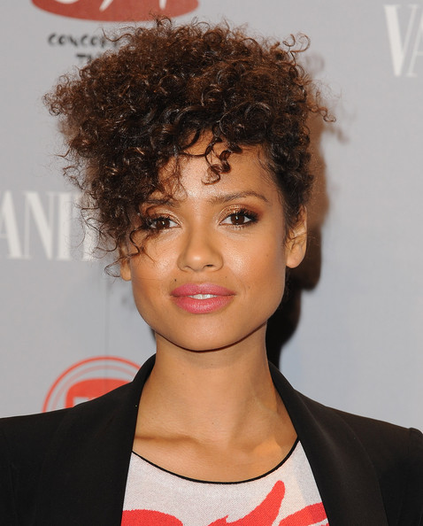 Gugu Mbatha-Raw Messy Updo