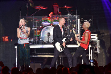 Gwen Stefani Adrian Young The 25th Annual KROQ Almost Acoustic Christmas - Day 2