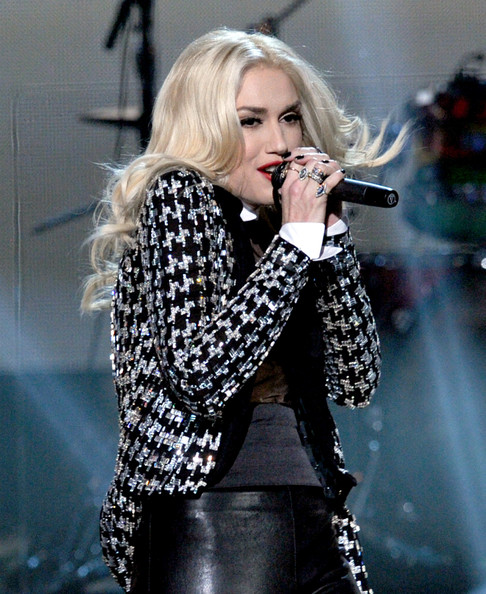 Gwen Stefani Sequined Jacket