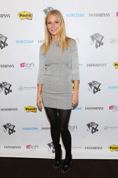 Gwyneth Paltrow Sweater Dress