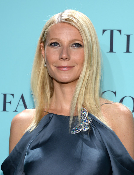 Gwyneth Paltrow Metallic Eyeshadow