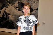 Gwyneth Paltrow Print Blouse