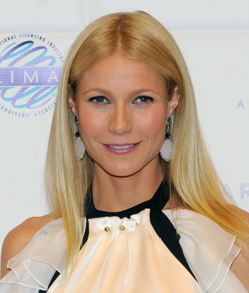 More Pics of Gwyneth Paltrow Ruffle Blouse (1 of 14) - Gwyneth Paltrow Lookbook - StyleBistro