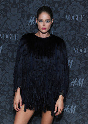 Doutzen Kroes took a fashion risk at the H&M and Vogue Studios Between the Shows party with this baggy LBD.