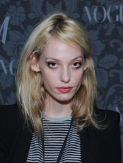 Cory Kennedy attended the H&M and Vogue Studios Between the Shows party wearing dramatic cat-eye makeup.