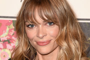 Jaime King Long Wavy Cut with Bangs
