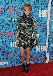 Chloe Sevigny stepped out in this hard to ignore print dress at the premiere of 'Girls' in NYC.