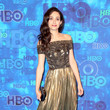 Emmy Rossum in  J. Mendel  at HBO's Post Emmy Awards Reception