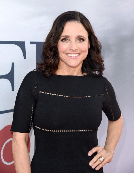 More Pics of Julia Louis-Dreyfus Little Black Dress (1 of 9) - Julia Louis-Dreyfus Lookbook - StyleBistro