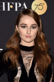 Kaitlyn Dever looked edgy-glam with her metallic silver eyeshadow at the 2017 HFPA and InStyle TIFF party.