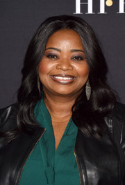 Octavia Spencer wore perfectly styled waves at the HFPA and InStyle TIFF celebration.