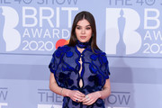 Hailee Steinfeld Embroidered Dress