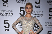 Hailey Baldwin Evening Dress