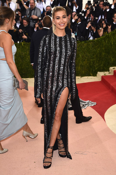 Hailey Bieber Strappy Sandals [manus x machina: fashion in an age of technology costume institute gala - arrivals,manus x machina: fashion in an age of technology costume institute gala,fashion model,flooring,fashion,carpet,catwalk,hairstyle,red carpet,haute couture,long hair,fashion design,hailey rhode baldwin,tommy hilfiger,fashion,red carpet,model,fashion model,flooring,metropolitan museum of art,hailey rhode baldwin,tommy hilfiger,metropolitan museum of art,2016 met gala,2017 met gala,fashion,justin bieber,red carpet,model]
