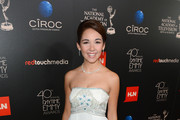 Haley Pullos Strapless Dress