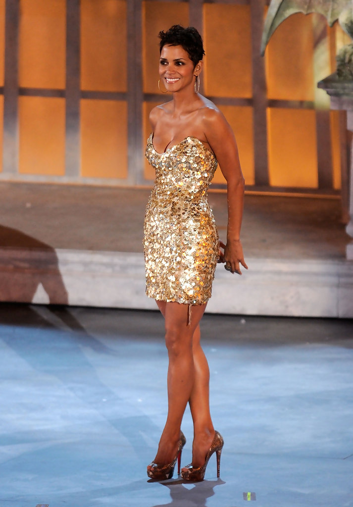 Halle Berry Strapless Dress Halle Berry Dresses Amp Skirts
