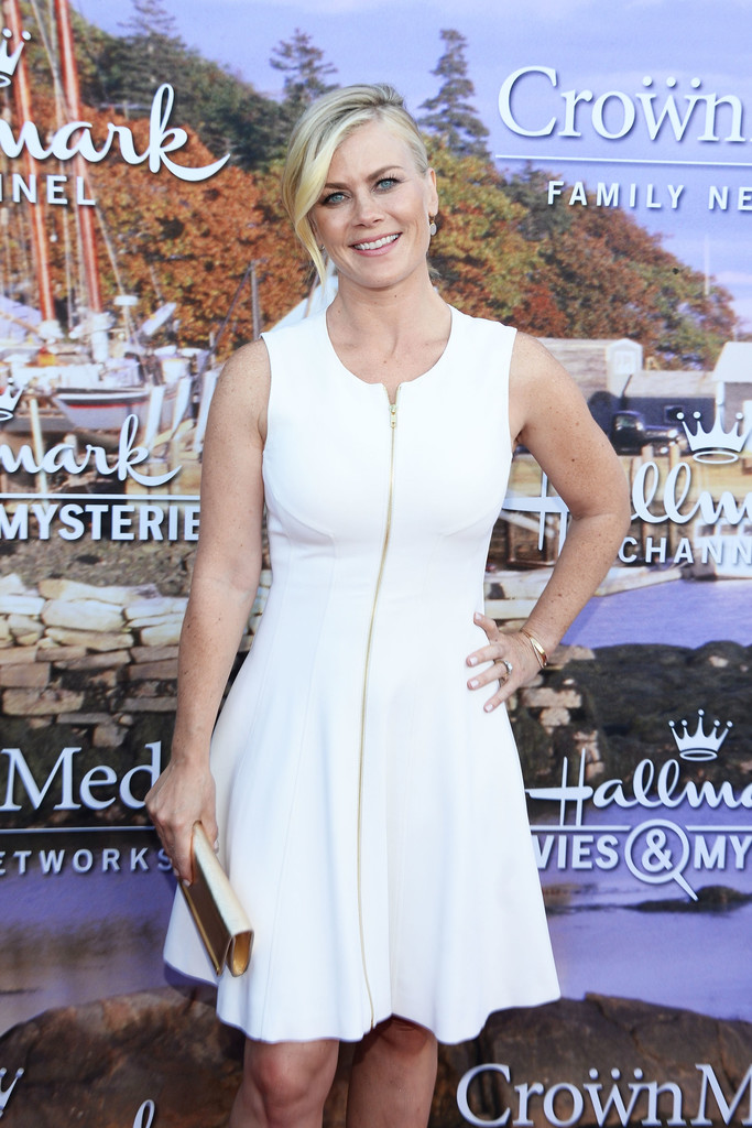 More pics of alison sweeney day dress 1 of 5 clothes for Hallmark movies and mysteries channel