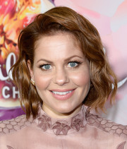 Candace Cameron Bure kept it sweet with this short wavy 'do at the Hallmark Channel Winter TCA Press Tour.