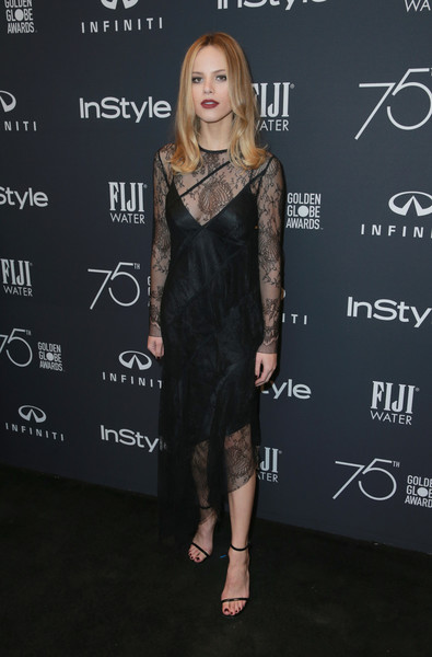 Halston Sage Lace Dress