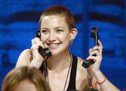 Kate Hudson went tomboy-chic with this buzzcut at the Hand in Hand benefit.
