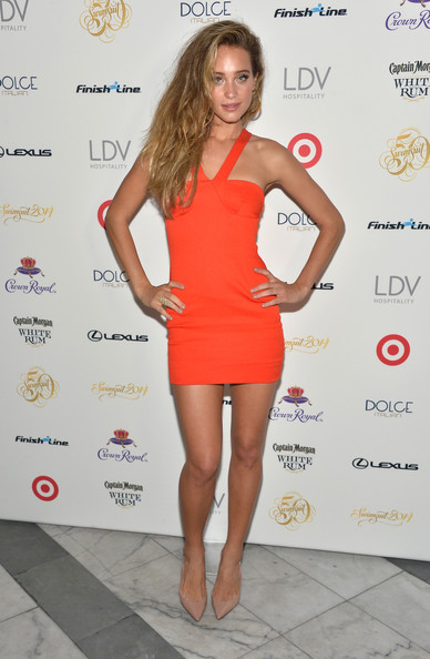 Hannah Jeter Halter Dress
