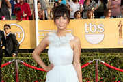 Hannah Simone Evening Dress