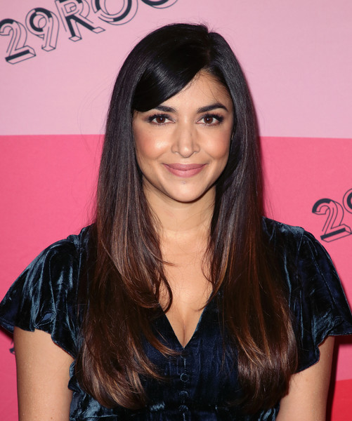 Hannah Simone Layered Cut
