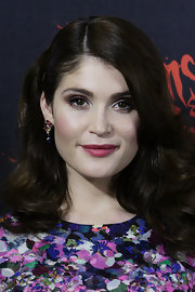 Gemma Arterton sported a sharp side part and retro waves at the Australian premiere for 'Hansel and Gretel Witch Hunters.'