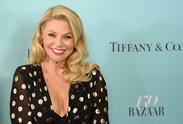 Christie Brinkley brought some Old Hollywood glamour to the Harper's Bazaar 150th anniversary party with this vintage-inspired curly 'do.