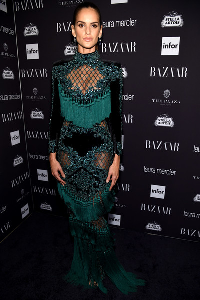 Izabel Goulart in Balmain