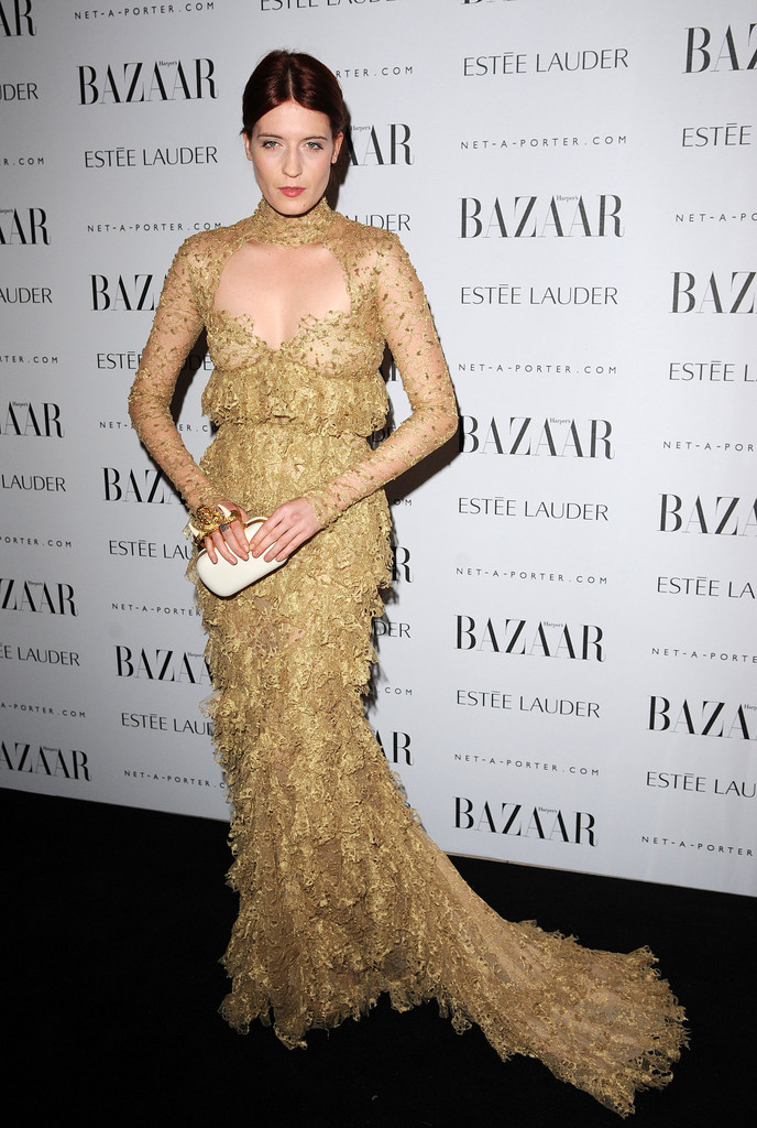 Florence Welch attends the Harper's Bazaar Women Of the Year Awards 2011 at Claridges Hotel on November 7, 2011 in London, England.