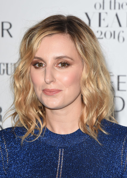 Laura Carmichael showed off beach-chic waves at the Harper's Bazaar Women of the Year Awards.