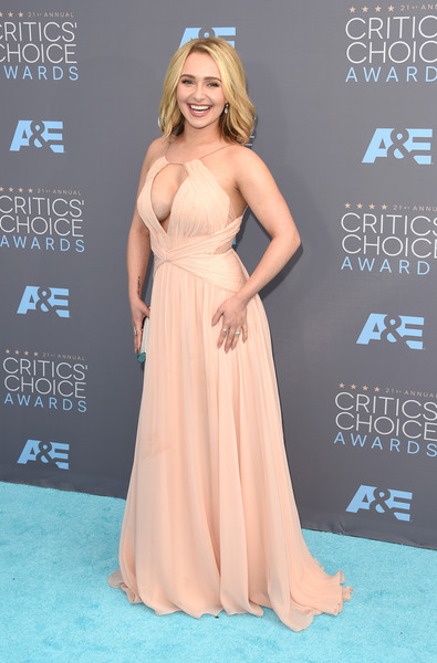 Hayden Panettiere Cutout Dress