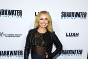 Hayden Panettiere Wide Leg Pants