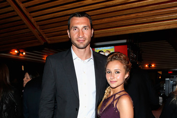 Hayden Panettiere Wladimir Klitschko Celebs Attend an Upfronts Party in NYC