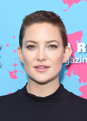 Kate Hudson looked edgy with her boy cut at the Unbound Access MagFront.
