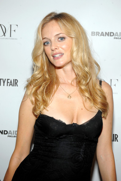 Heather Graham Gold Pendant