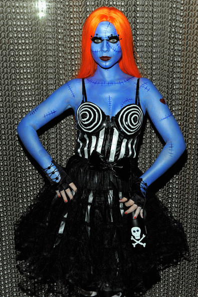 Michelle Tractenberg as Sally from 'The Nightmare Before Christmas'