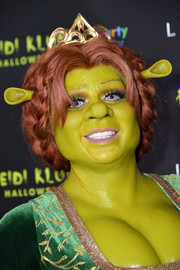 Heidi Klum put on a braided wig to channel Princess Fiona for her 19th annual Halloween party.
