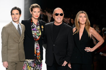 Heidi Klum Michael Kors Project Runway - Runway - Fall 2013 Mercedes-Benz Fashion Week