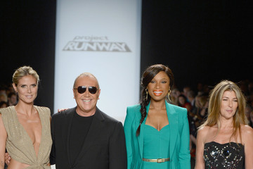 Heidi Klum Michael Kors Project Runway - Runway - Spring 2013 Mercedes-Benz Fashion Week