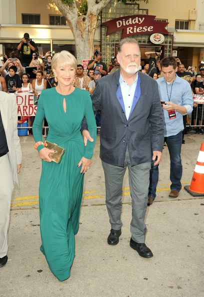 More Angles of Helen Mirren Short cut with bangs