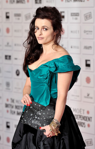 Helena Bonham Carter Beaded Clutch