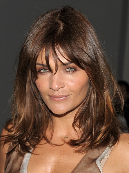 Helena Christensen Hair
