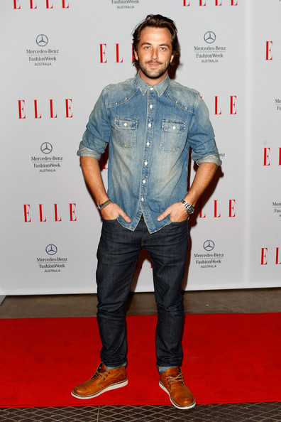 More Pics of Darren McMullen Denim Shirt (1 of 2) - Denim Shirt Lookbook - StyleBistro