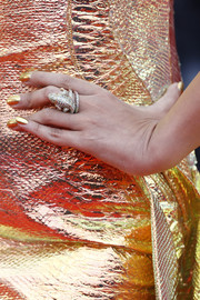 Aishwarya Rai made a luxe statement with this huge reptilian ring by Boucheron at the Cannes Film Festival screening of 'A Hidden Life.'