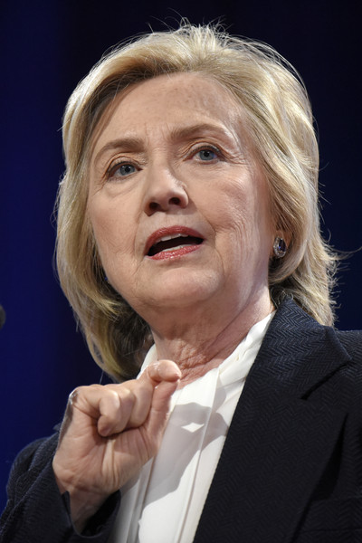 Hillary Clinton Bob [face,chin,nose,wrinkle,cheek,forehead,spokesperson,human,official,gesture,hillary clinton,candidate,rights,country,missouri,kansas city,national council of la raza conference,national council of la raza,democratic,conference]