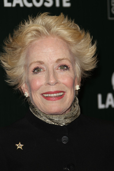 Holland Taylor Messy Cut [hair,face,hairstyle,blond,eyebrow,chin,head,lady,lip,smile,holland taylor,lacoste - arrivals,hotel,beverly hills,california,the beverly hilton,lacoste,sponsor,13th annual costume designers guild awards]