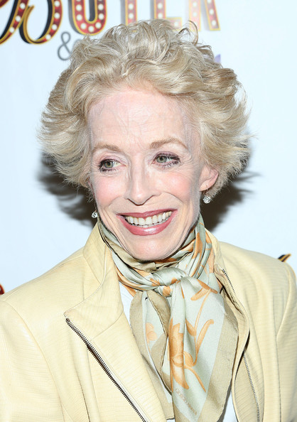 Holland Taylor Messy Cut [hair,blond,hairstyle,chin,lip,smile,fashion design,hair coloring,singer,long hair,buyer cellar,opening night - arrivals,buyers,holland taylor,new york city,barrow street theatre,cellars]