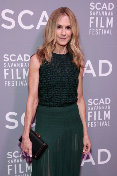 Holly Hunter Satin Clutch []